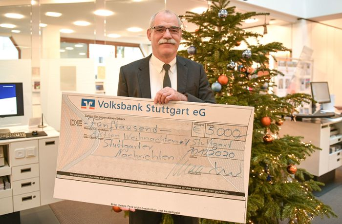Aktion Weihnachten 2020/21: Volksbank spendet