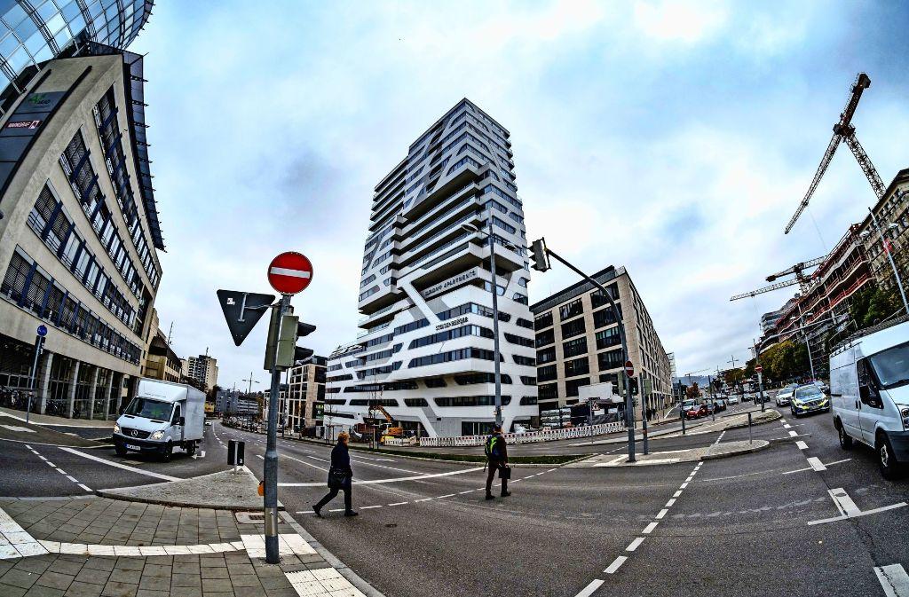 Generalunternehmer Stuttgart cloud no 7 in stuttgart luxuswohnturm im visier der bauprüfer