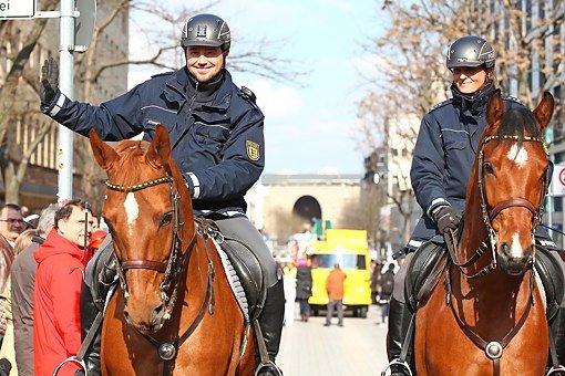 Wird die Polizei in Baden-Württemberg bei Fasnachtsumzügen in diesem Jahr mehr Präsenz zeigen? Foto: www.7aktuell.de | Daniel Jüptner