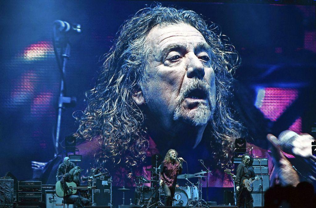 Robert Plant Sanger Von Led Zeppelin Wird 70 Mit Stairway To