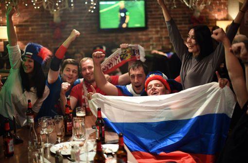 WM 2018: Durstige Fans sitzen auf dem Trockenen: Bier