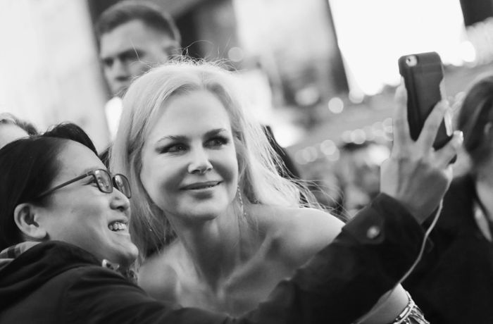 "Premiere ""The Killing of a Sacred Deer"": Selfie mit Nicole Kidman und Colin Farrell"