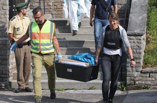Spurensicherung in Flüchtlingsheim