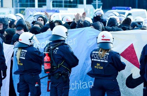 Der AfD-Parteitag in Stuttgart