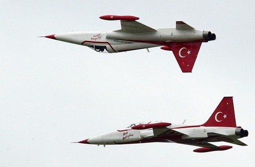 Türkische Luftwaffe greift PKK-Stellungen an