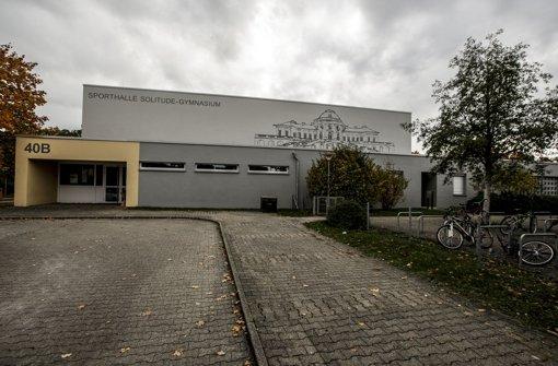 War bisher Wettkampfstätte für Stuttgarter Ballsportler: Schulsporthalle des Gymnasiums Foto: Lichtgut/Leif Piechowski