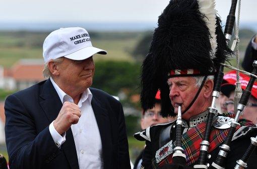 Donald Trump gratuliert Briten