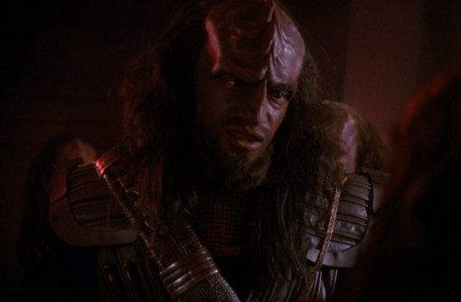 Klingonischer Krieger. Foto:  Filmtitel   Paramount DVD