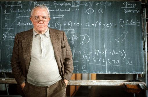 Der Philosoph und Wissenschaftstheoretiker Max Bense Foto: dpa