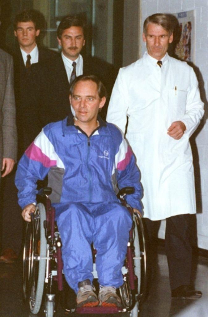 Schäuble Unfall