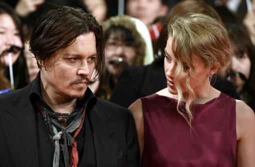 Ehefrau von Johnny Depp reicht Scheidung ein