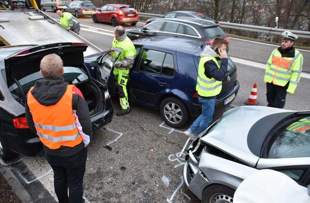 Unfall Stuttgart Gestern