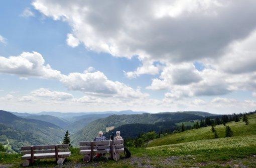 Rast auf dem Feldberg: Der Schwarzwald ist eines der  wichtigsten touristischen  Ziele im Land. Foto: dpa