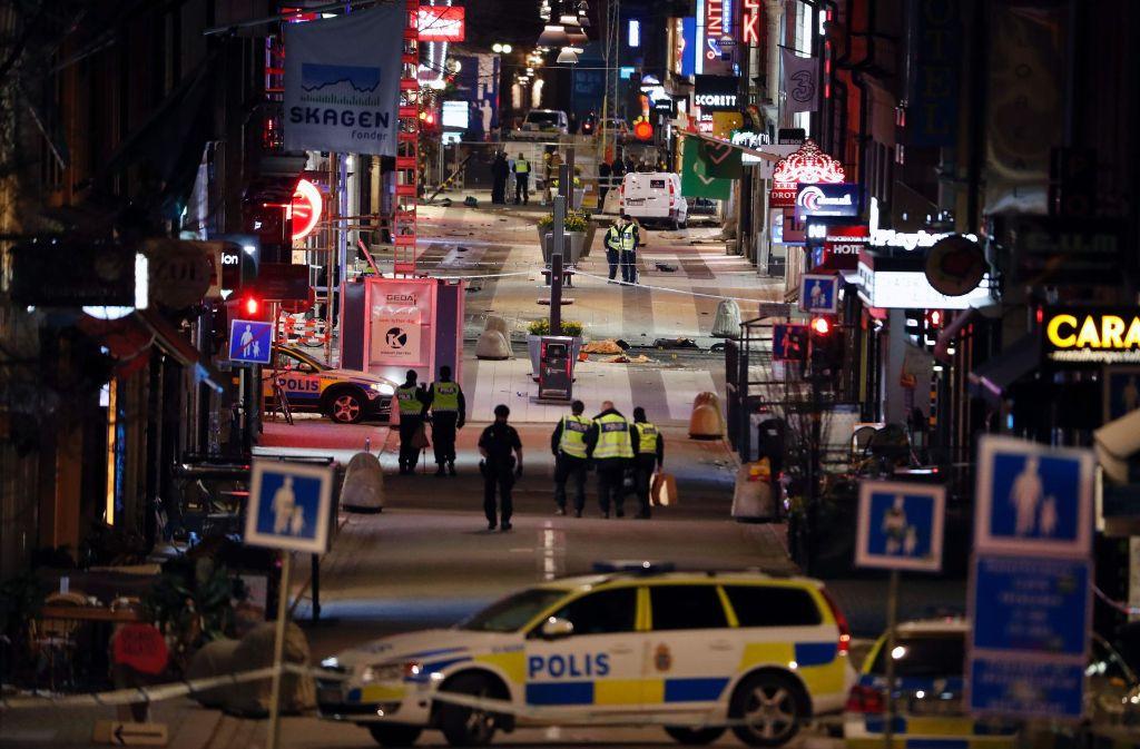 Terroranschlag Stockholm