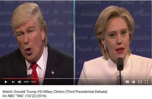 Das sind die besten Persiflagen der Kandidaten