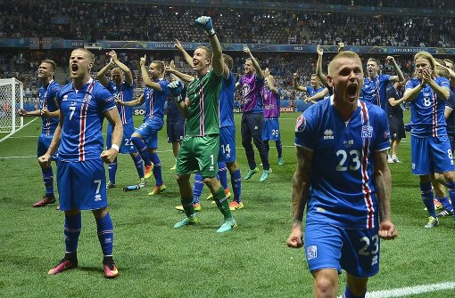 Island-Trikots sind fast ausverkauft
