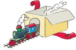 bDie Eisenbahn/bbr Eine Zeit lang haben sich klassische Eisenbahnbauer wie Märklin hauptsächlich auf Sammler konzentriert. Züge und Zubehör wurden immer teurer. Jetzt kehren Loks, Waggons, Schienen und das ganze Zubehör zurück ins Kinderzimmer (Einsteigermodell von Märklin ab 50 Euro). Die Eisenbahn verbindet Kinder und Eltern beim gemeinsamen Basteln und Spielen. Foto: Illustrationen: Yann Lange