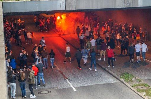 Deutschland-Fans blockieren B27-Tunnel nach Viertelfinal-Einzug