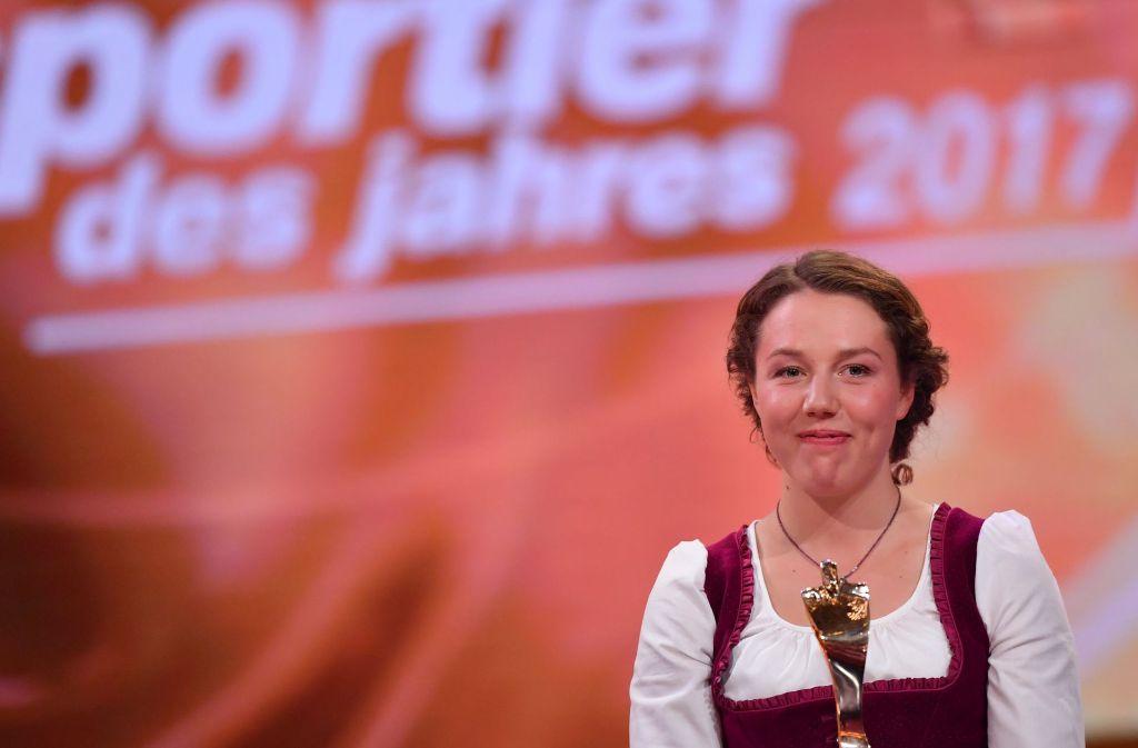 Sportlerin Des Jahres Laura Dahlmeier Krönt Außergewöhnliche