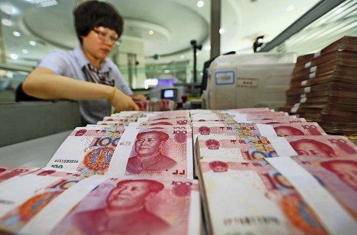 China will die Dominanz des Dollar brechen