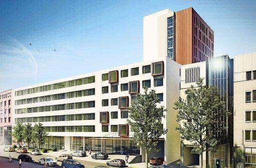 Pragsattel: Hotel- und Bürokomplex geplant
