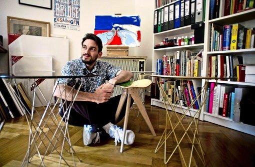 jungdesigner alexander klein allt glich praktisch gut stuttgart stuttgarter nachrichten. Black Bedroom Furniture Sets. Home Design Ideas