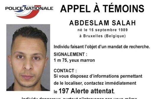 Salah Abdeslam soll an den Terroranschlägen in Paris im vergangenen November beteiligt gewesen sein. Foto: AP/Police Nationale