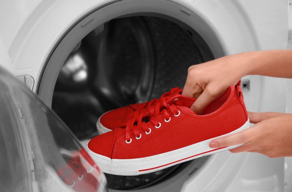 turnschuhe waschen geschirrspüler