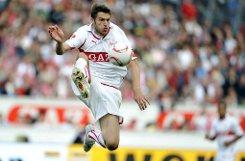 Einst VfB Stuttgart, heute 1899 Hoffenheim: Acht Jahre lang sprang, rannte und kämpfte bMatthieu Delpierre/b für den VfB Stuttgart. Der französische Abwehrspieler kam im Sommer 2004 vom OSC Lille in die Bundesliga und hielt ...br Foto: dpa
