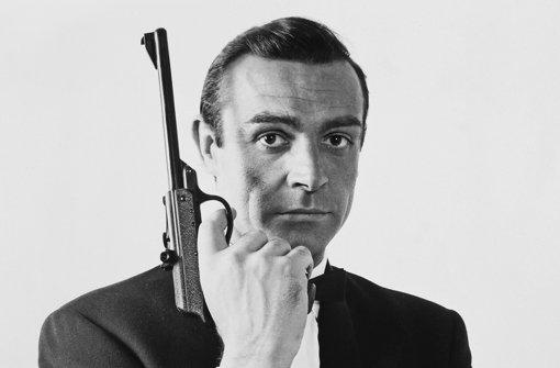 """Er hat die Figur des Geheimagenten James Bond entscheidend geprägt: Sean Connery 1964 , wie er in """"Goldfinger"""" aussah. Foto: www.mauritius-images.com"""