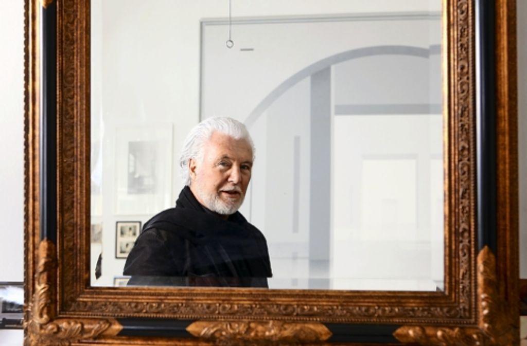 stuttgarter maler willikens sein atelier ist seine burg s zene stuttgarter nachrichten. Black Bedroom Furniture Sets. Home Design Ideas