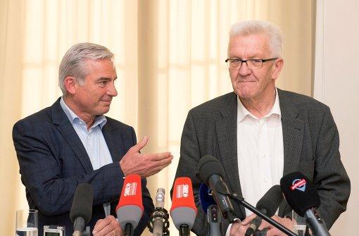 Grüne und CDU einigen sich auf Ressortverteilung