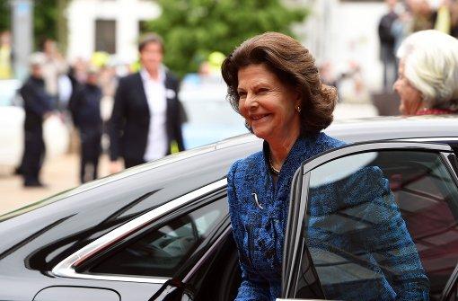 Schwedische Königin Silvia besucht Düsseldorfer Landtag