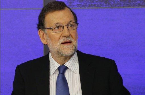 Rajoy will mit Sozialisten koalieren