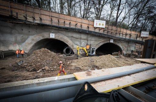 Mehr Juristen und Planer für Rosensteintunnel