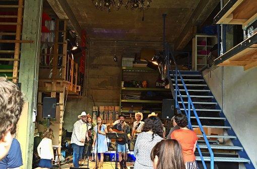 Beim Sommerfest des Theater Rampe in Stuttgart-Süd durften die Besucher hinter die Kulissen blicken.