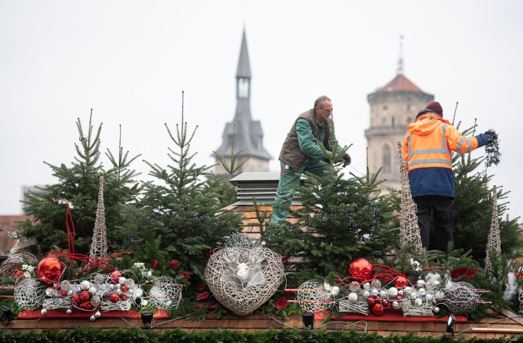 Weihnachtsmarkt Länger Als 24 12.Stuttgart Das ändert Sich Auf Dem Weihnachtsmarkt Stuttgarter