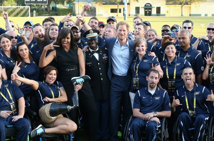 "Florida: Michelle Obama und Prinz Harry eröffnen ""Invictus Games"""