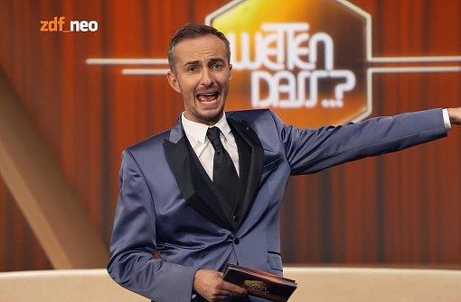 Böhmermann kommentiert TV-Duell vor Ort