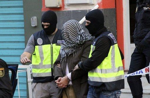 Mutmaßliche Dschihadisten in Spanien gefasst