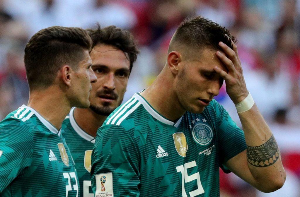 Fußball Wm 2018 Mission Gescheitert Fußball Stuttgarter Nachrichten
