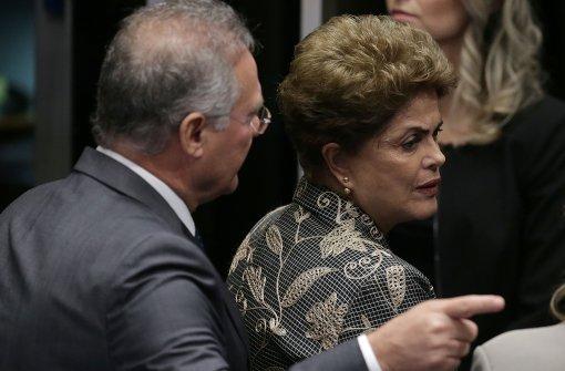 Amtsenthebung von Rousseff in vollem Gange