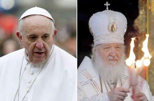 Papst mit russischem Patriarch Kirill zusammengekommen