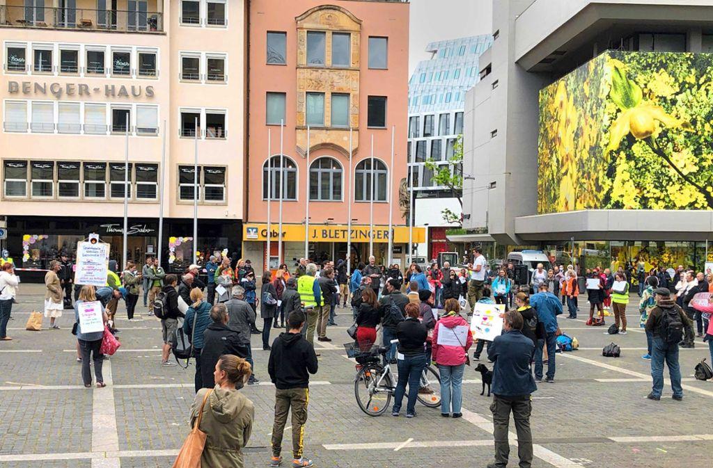 Demo Stuttgart Heute