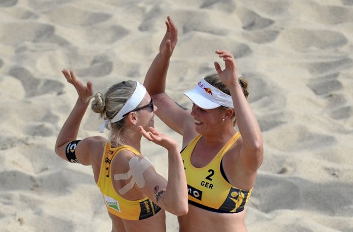 Beachvolleyball: Borger/Büthe lösen Olympia-Ticket