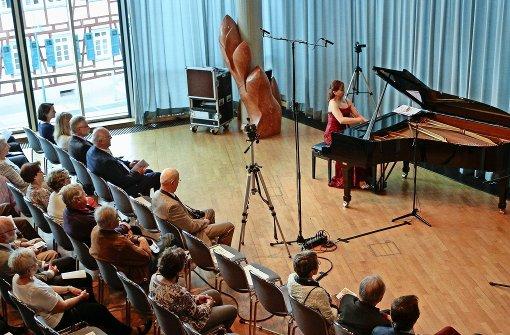 Ein Klavierkonzert zu Ehren von Hubertus Schwinge