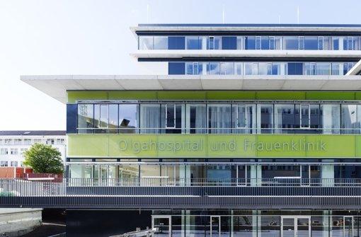 Der Neubau der Kinderklinik Olgahospital und Frauenklinik auf dem Areal hinter dem Katharinenhospital Foto: Klinik