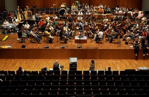 SWR-Sinfonieorchesters Baden-Baden Foto: dapd
