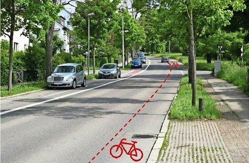 Radfahrer müssen weiter zittern