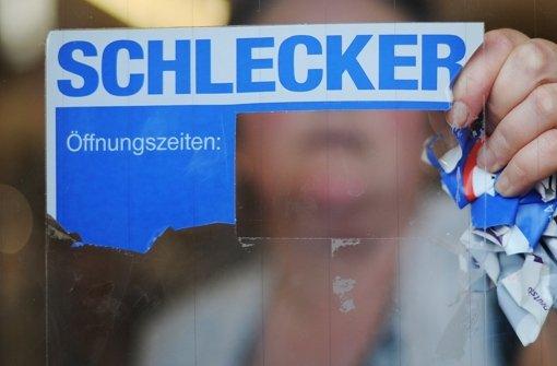 Ein Fall für die Abwicklung: Schlecker. Foto: dpa